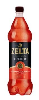 Alus kokt. Zelta Cider strawberry/blueberry 4.5% 1l
